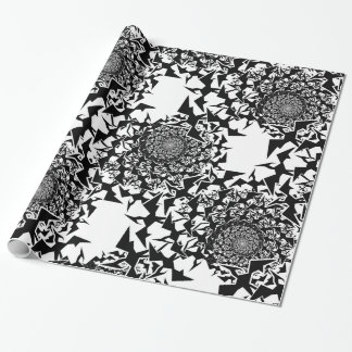 Fractyl Pterodactyl Swarm Wrapping Paper