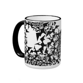 Fractyl Pterodactyl Swarms Ringer Mug