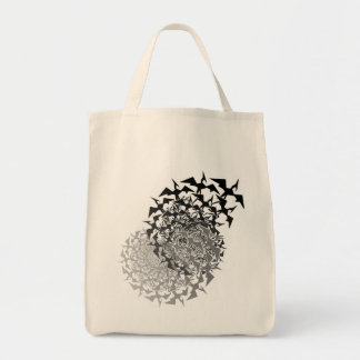Fractyl Pterodactyl Two Swarms Tote Bag