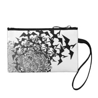 Fractyl Pterodactyl Two Swarms Coin Purse