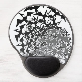Fractyl Pterodactyl Two Swarms Gel Mouse Pad