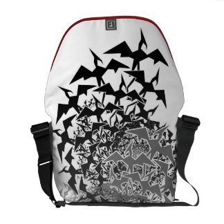 Fractyl Pterodactyl Two Swarms Courier Bag