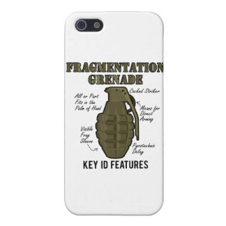 Frag Grenade ID Features Case For iPhone SE/5/5s