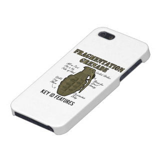 Frag Grenade ID Features Cover For iPhone SE/5/5s