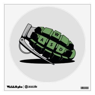 Frag Grenade Wall Sticker