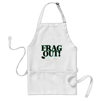 Frag Out Adult Apron