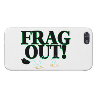 Frag Out Gamer Cover For iPhone SE/5/5s