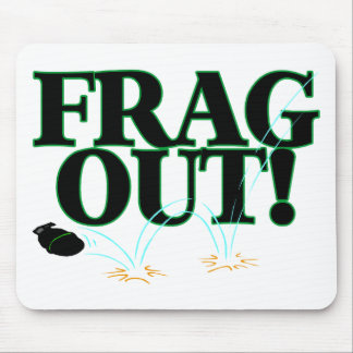 Frag Out Mouse Pad