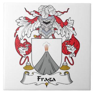 Fraga Family Crest Tile