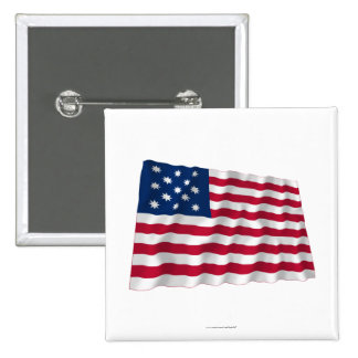 Fragata Alliance que agita la bandera Pin