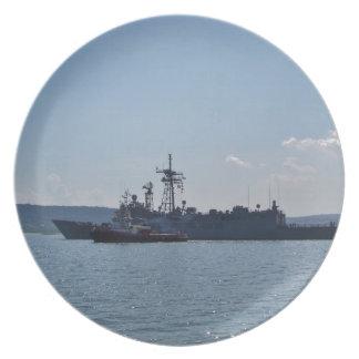 Fragata Juan L. Pasillo Plato