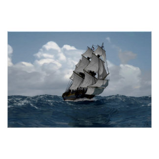 Fragata Pandora Poster