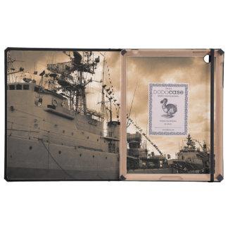 Fragatas portuguesas de la marina de guerra iPad carcasa