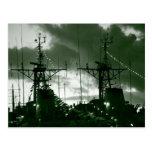 Fragatas portuguesas de la marina de guerra tarjetas postales