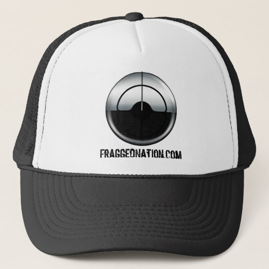 FraggedNation.com Logo and Text Hat