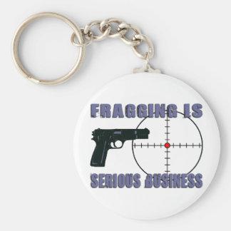 Fragging es negocio serio llaveros