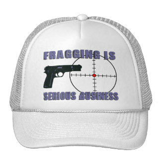 Fragging Is Serious Business Trucker Hat