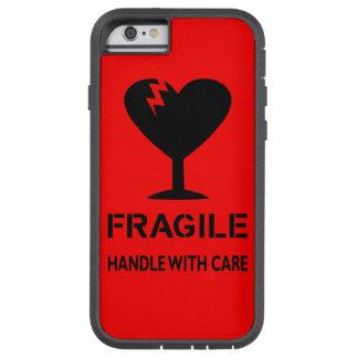 Frágil, dirija con cuidado. caso del iphone 6 funda de iPhone 6 tough xtreme