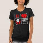 Frágil dirija con el cuidado #6 camiseta