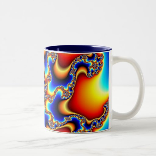 Frágil - taza del fractal