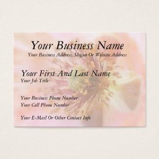 Fragile Bloom - Spring Poppy Business Card