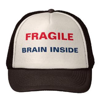 Fragile Brain Inside Trucker Hat