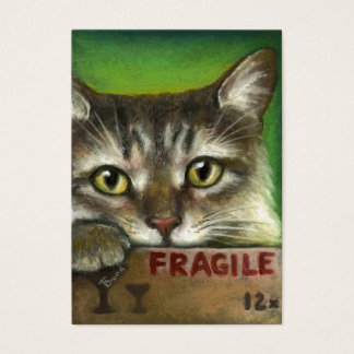 FRAGILE BUSINESS CARD
