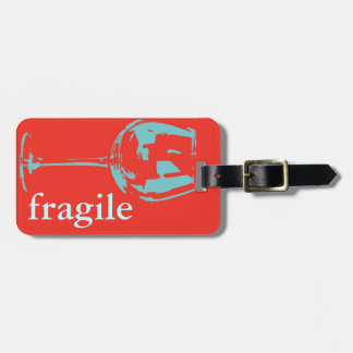 fragile caution sign bag tag