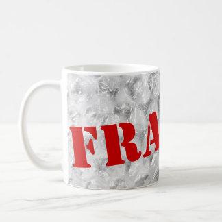 Fragile coffee mug    Bubble wrap design