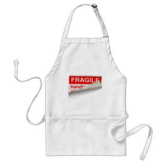 Fragile Contents Adult Apron