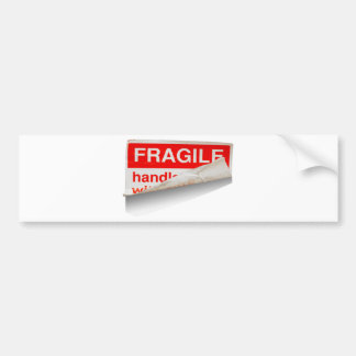 Fragile Contents Bumper Sticker