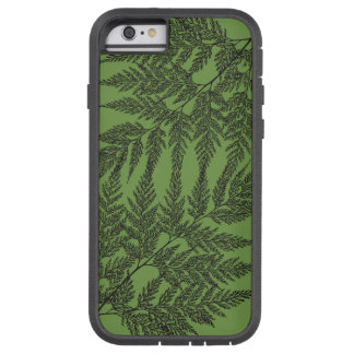 Fragile Fern Fronds Silhouette Tough Xtreme iPhone 6 Case