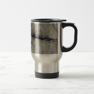 Fragile Fossil Plant Leaf Travel Mug