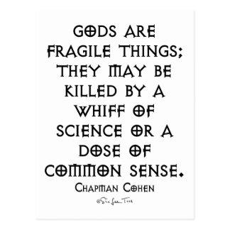 Fragile Gods Postcard