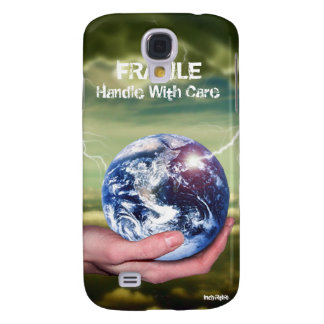 FRAGILE, Handle With Care Galaxy S4 Cover