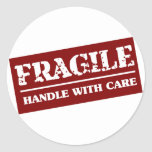 Fragile Handle with Care Item Sticker