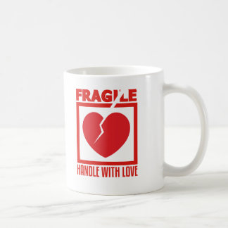 Fragile Handle With Love Coffee Mug