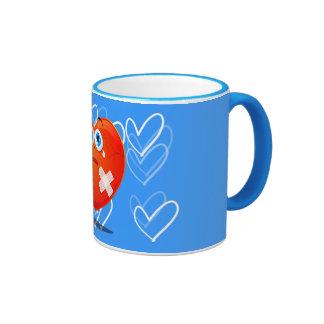 Fragile heart, mug