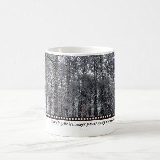 Fragile Ice Classic White Coffee Mug