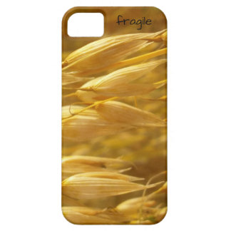 fragile iPhone 5/5s/SE cover (grain)