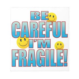 Fragile Life B Notepad