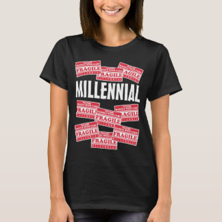 Fragile Millennial, Handle With Care T-Shirt