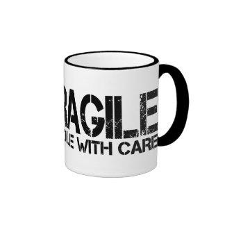 Fragile Ringer Coffee Mug