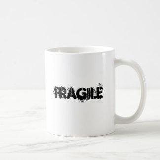 Fragile Classic White Coffee Mug