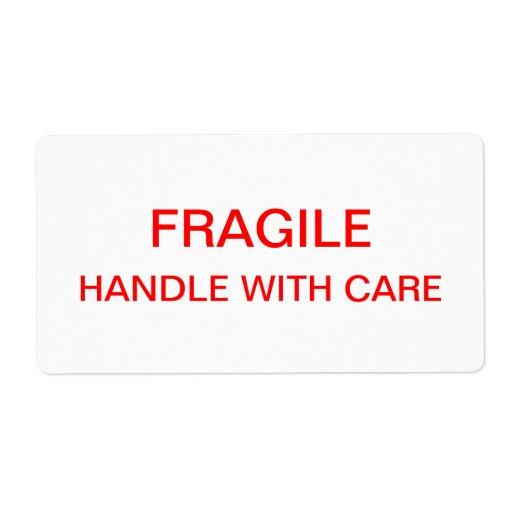 Fragile Packing Moving Label Zazzle