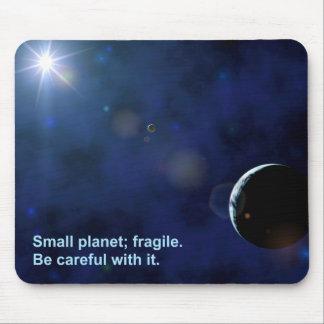 Fragile Planet Mouse Pad