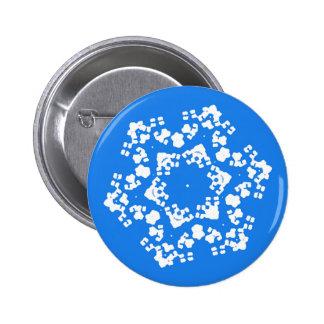 Fragile Snowflake Christmas Pin