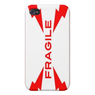 Fragile Symbol iPhone 4 Case