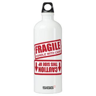 FRAGILE THIS SIDE UP SIGG TRAVELER 1.0L WATER BOTTLE