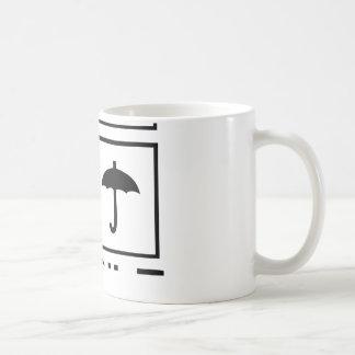 Fragile Warning sticker Coffee Mug